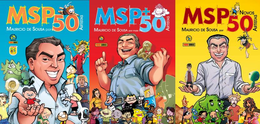 Resultado de imagem para MSP +50 e o MSP Novos 50