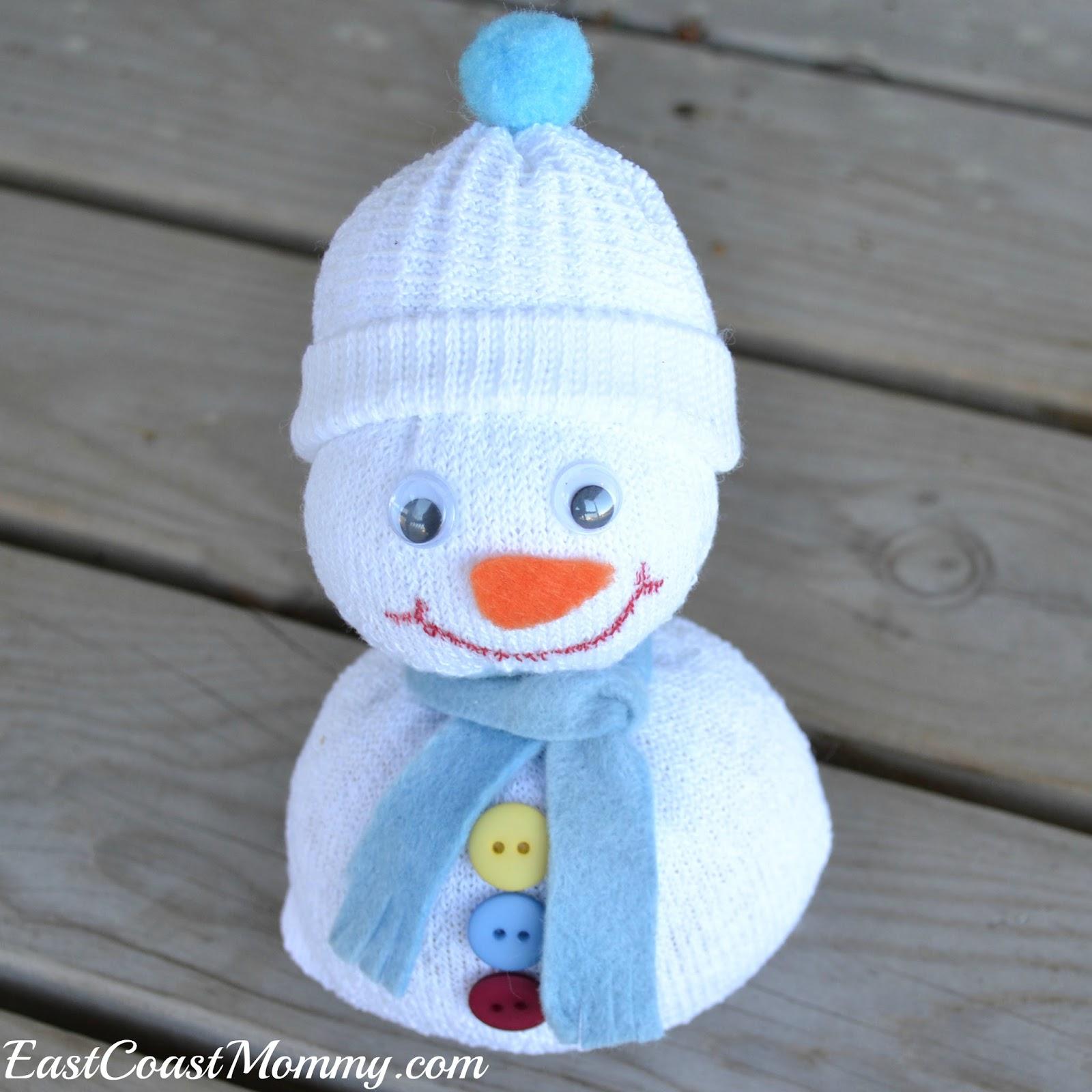 Christmas Snowman Crafts Pinterest