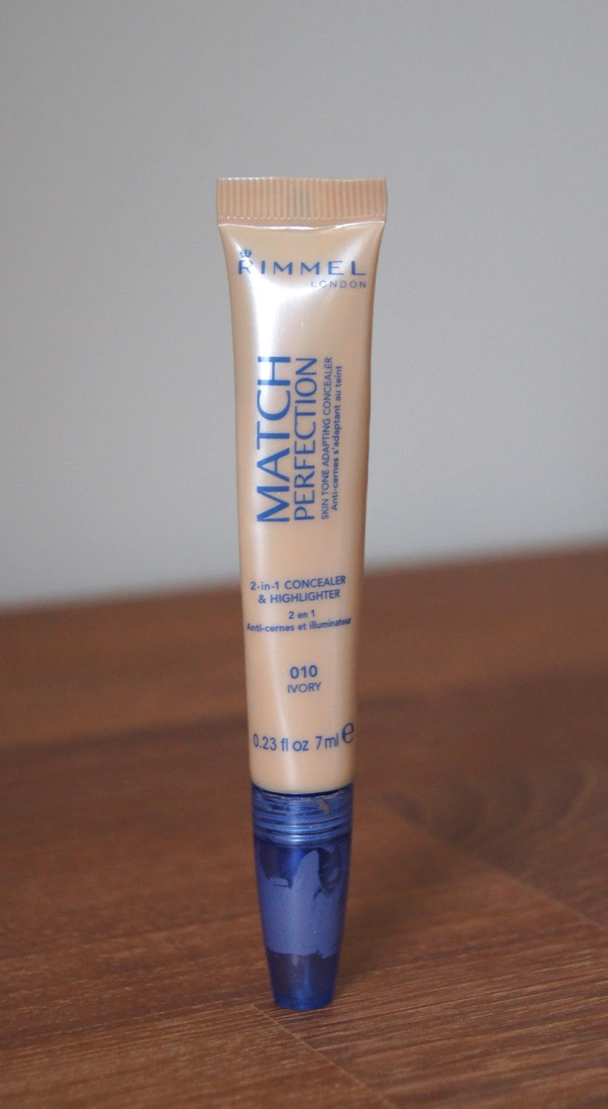rimmel match perfection 2 in 1 concealer highlighter review