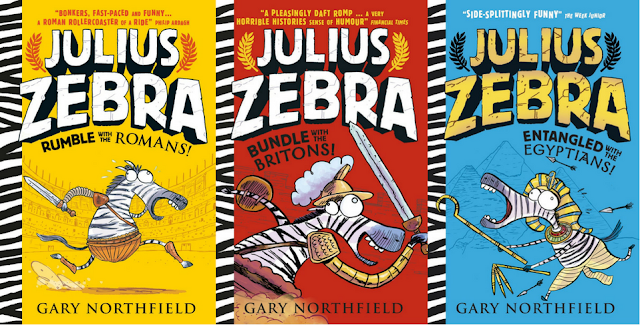 The Hilarious World of Julius Zebra with Gary Northfield