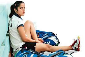 About Saina Nehwal, Badminton