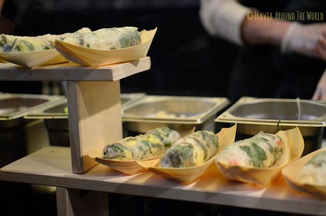 Street Food del Markthalle