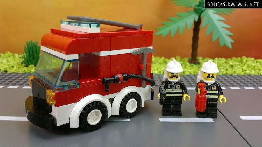 7. Fireman truck