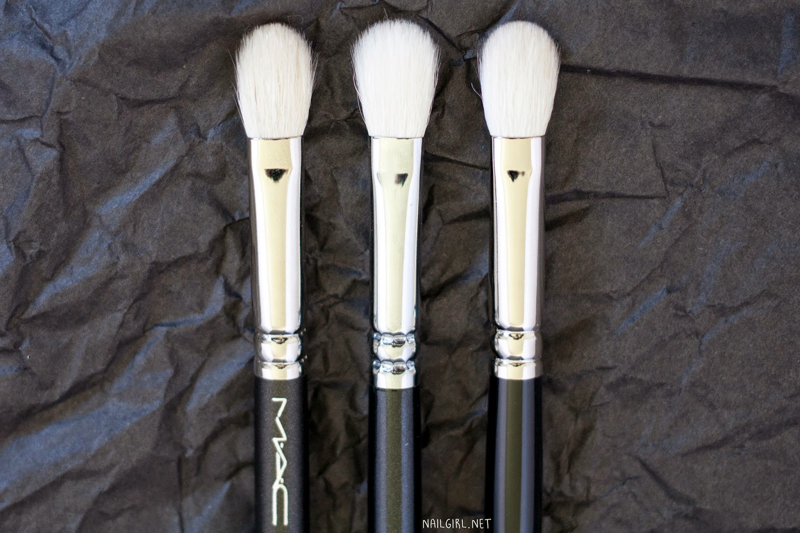 mac 217 zoeva 227 hakuhodo J5523 makeup brushes nc25