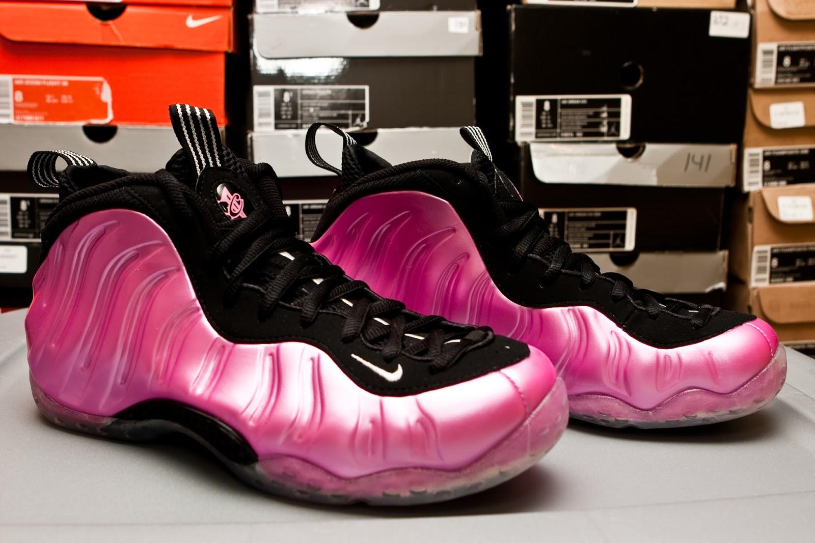 hot sale online 1c9fe 0b4b9 HoopFader's Nutshell: Nike Foamposite One - Solar Polarized Pink