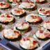 Bocados de calabacín al horno con queso y bacon. Receta para niños