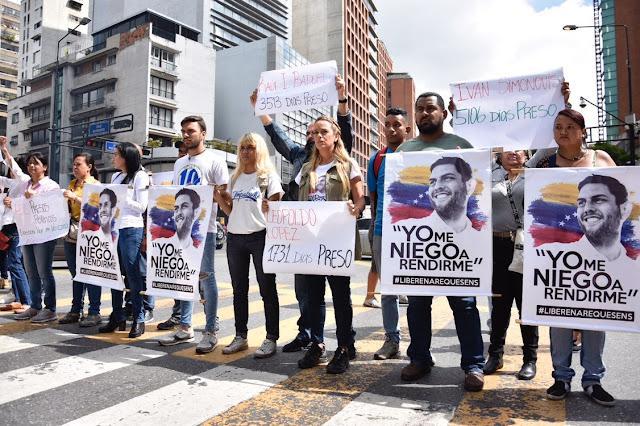 Lilian Tintori: Venezuela está presa pero aun así seguimos resistiendo y luchando.