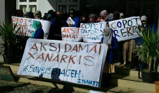 Unjuk Rasa di ISBI Aceh, Dua Dosen Dipukul Aparat