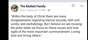 Ministries Tested Using God's Holy Word: The Mullett Family