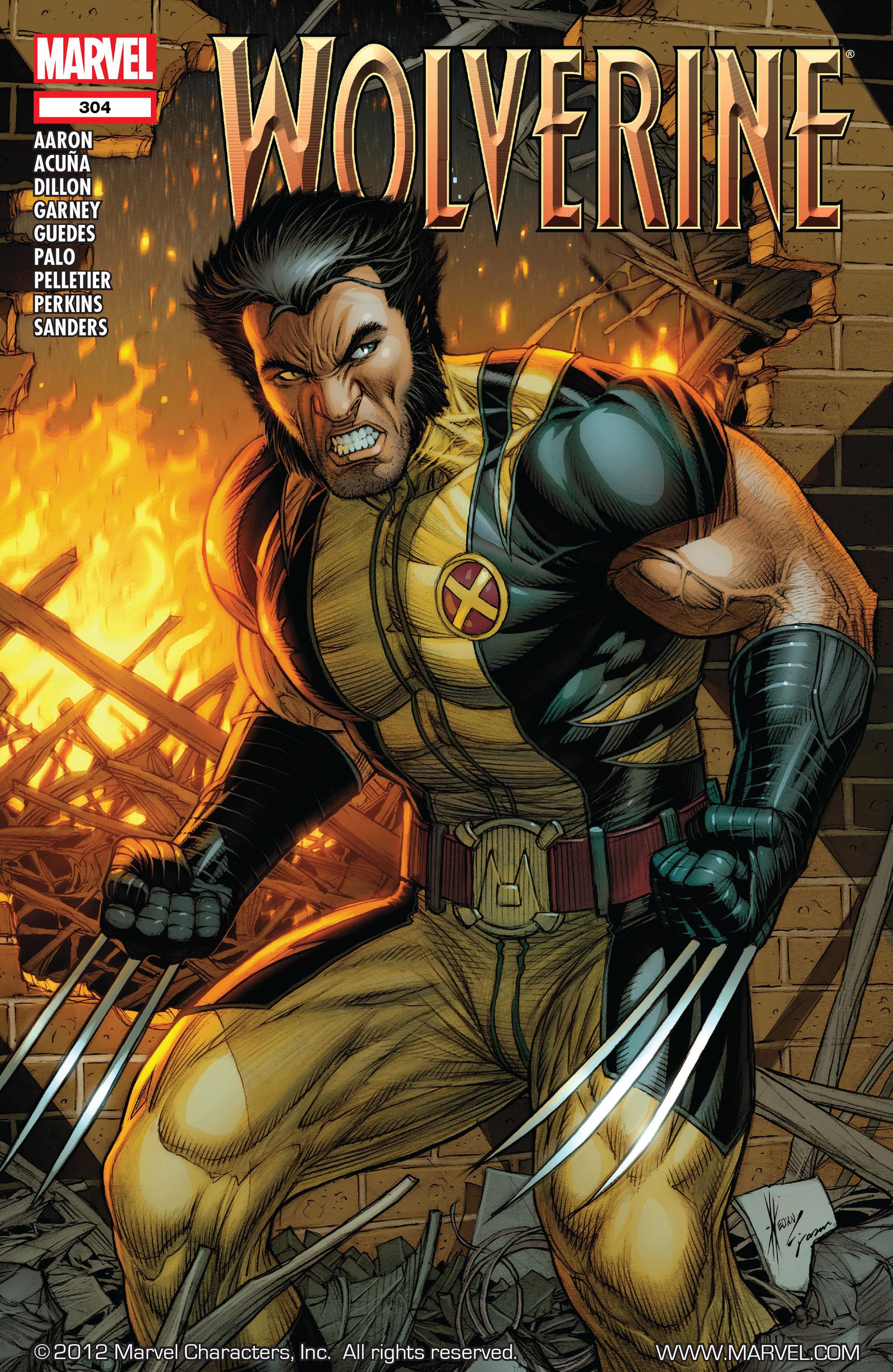 Wolverine (2010) 304 Page 1