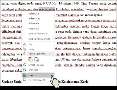 Menyisipkan Hyperlink ke File 3