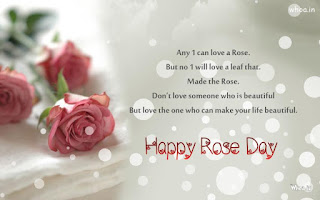 rose day images with text