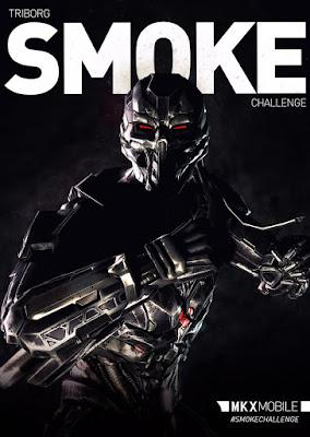 Triborg Smoke - Mortal Kombat X mobile