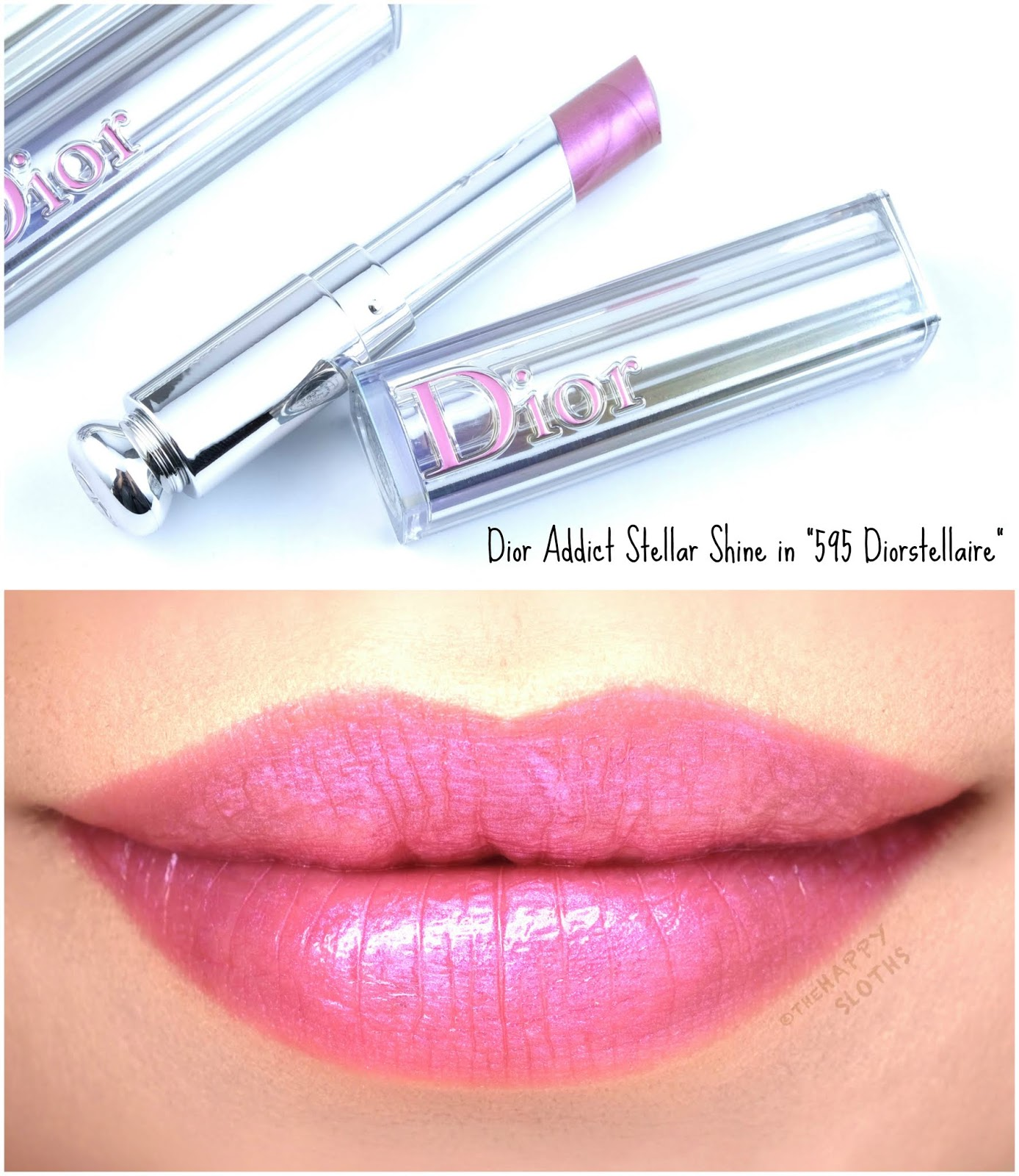 "Dior | Dior Addict Stellar Shine in 595 Diorstellaire"": Review and Swatches"