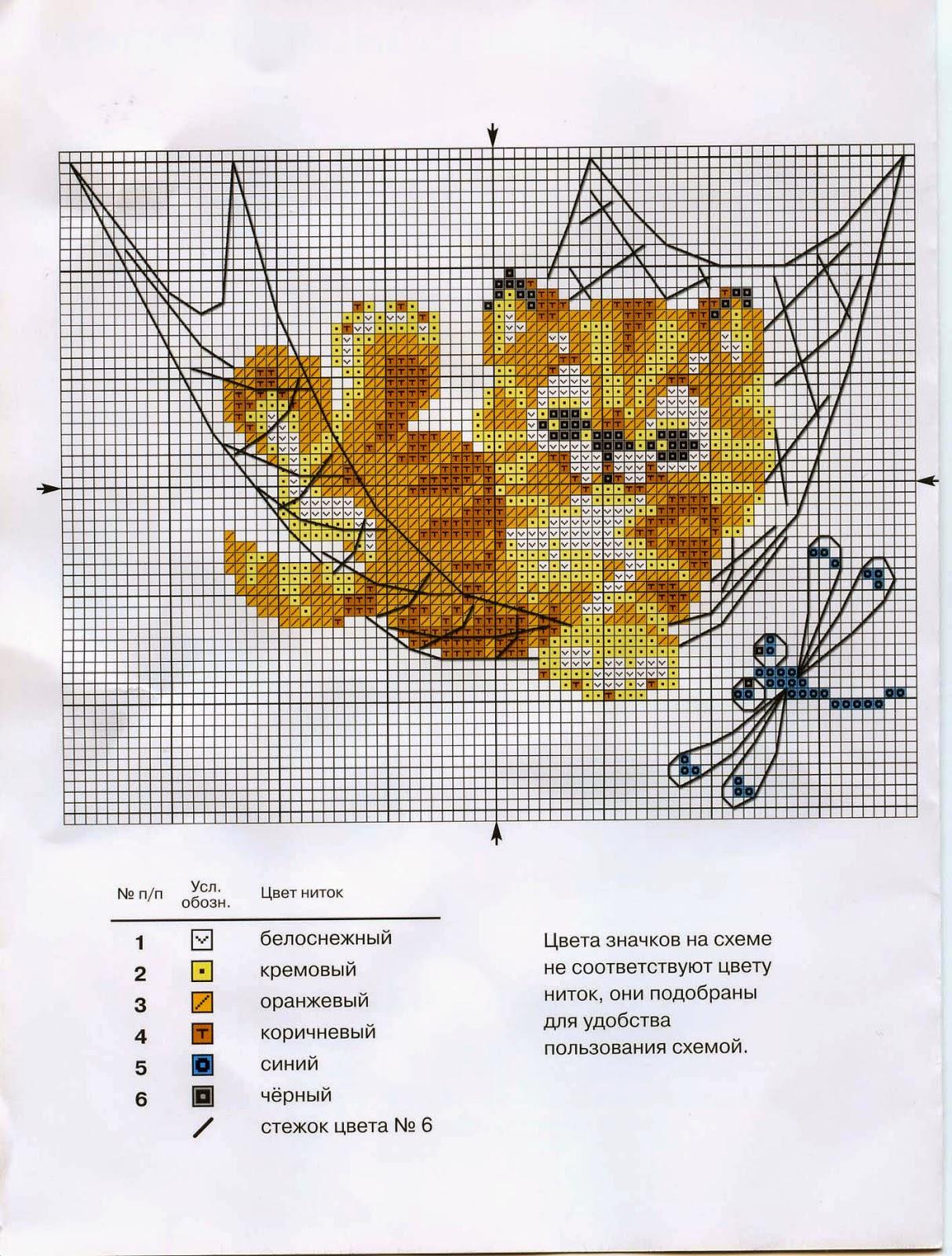 схема вышивки нв-147