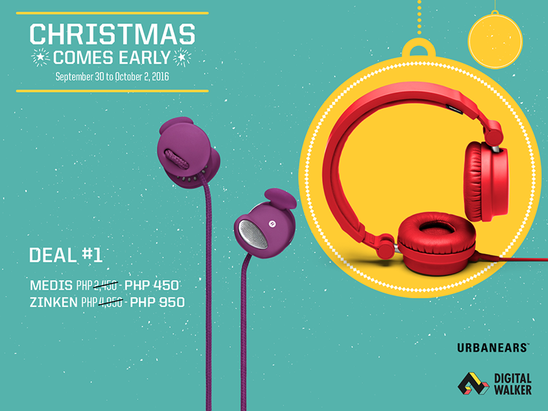 Urbanears And Coloud Headphones Will Be On Sale Soon, Price Starts At 295 Pesos Only!