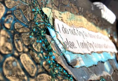 Art Journal, #ArtLove52, Leah Tees
