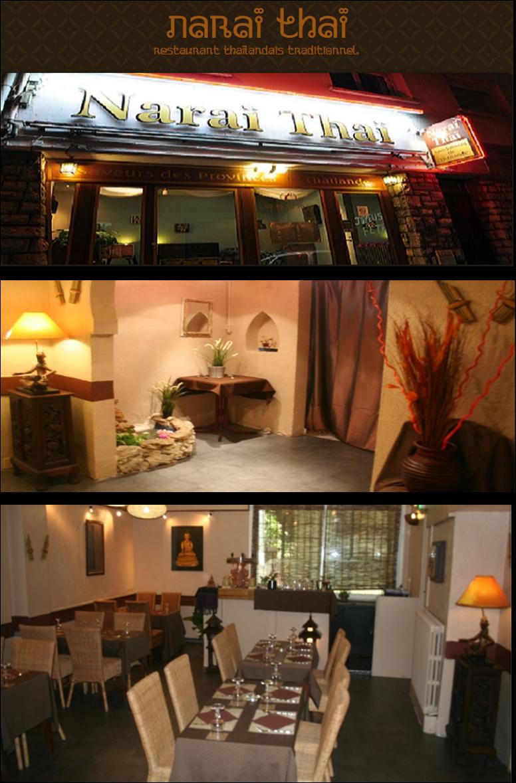 Gourmandista restaurant thailandais narai thai toulouse - Cuisine thailandaise traditionnelle ...