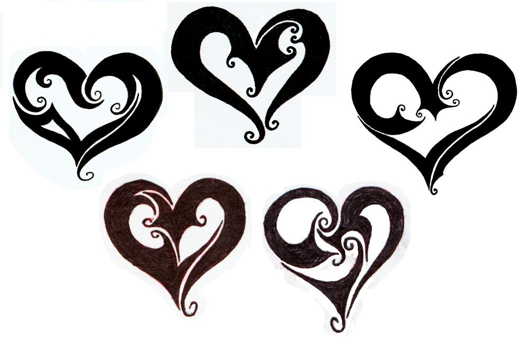 heart tattoo style image pics pictures ideas (58)