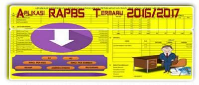 Aplikasi RAPBS (Rencana Pendapatan Anggaran Sekolah) Terbaru 2016/2017