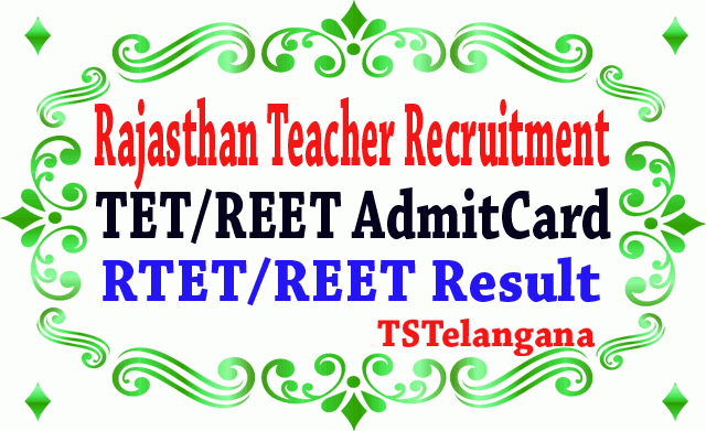 Rajasthan TET Admit Card 2019 REET Admit Card