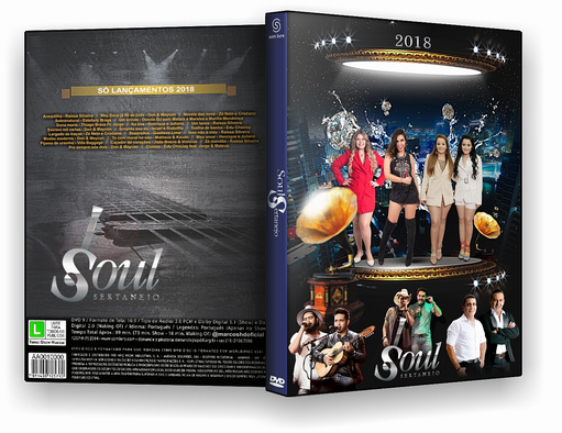 DVD-R soul sertanejo 2018 – AUTORADO