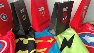 capas superheroes handmade