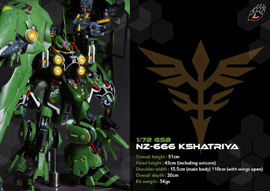 G-system-best 1/72 NZ-666 KSHATRIYA Custom Built by Long Gấu