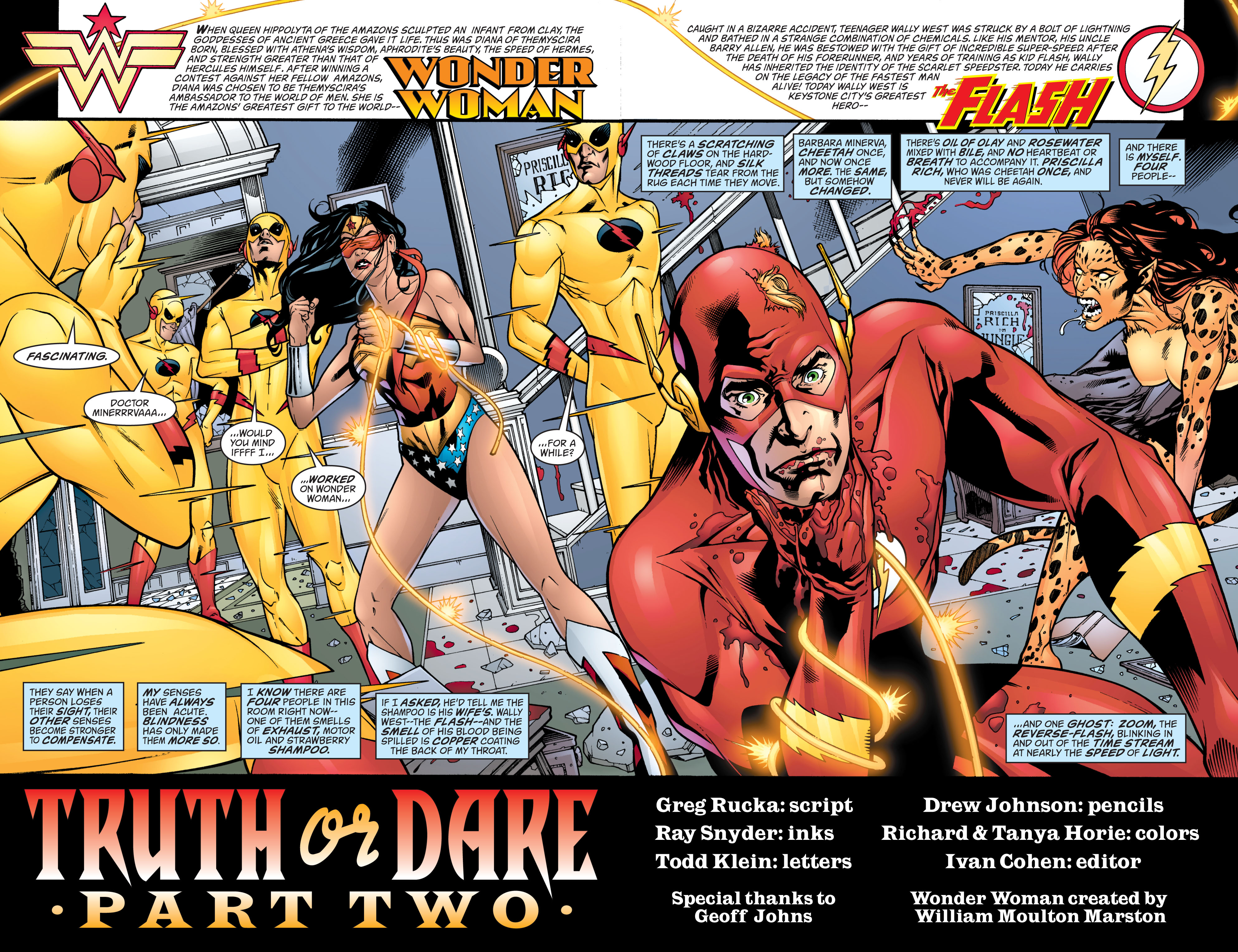 Read online Wonder Woman (1987) comic -  Issue #214 - 5