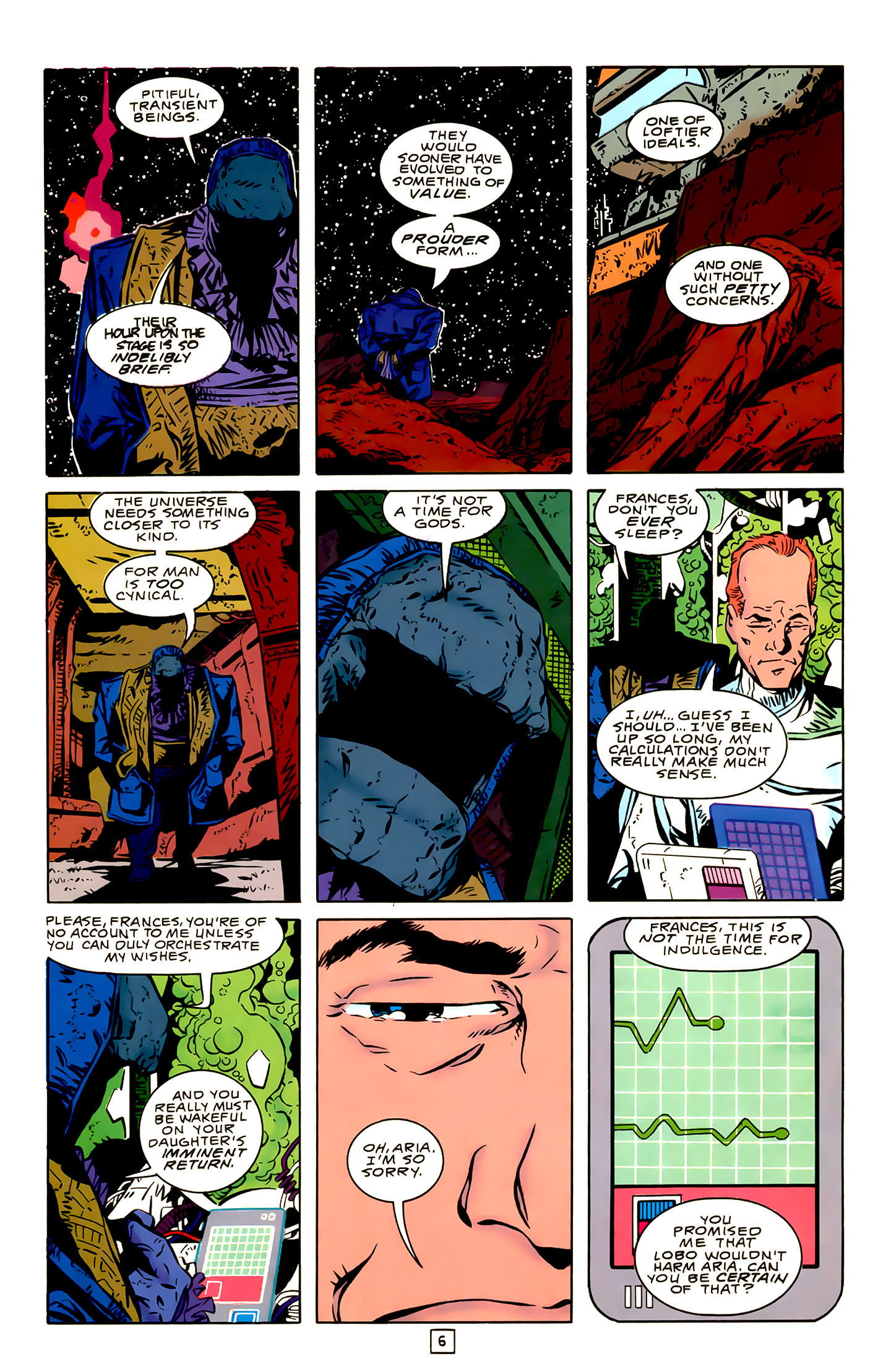 Legion of Super-Heroes (1989) 22 Page 6