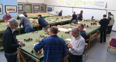 Last weekend at the Wargames Holiday Centre