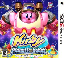 Kirby: Planet Robobot, 3DS, Español, Mega, Mediafire