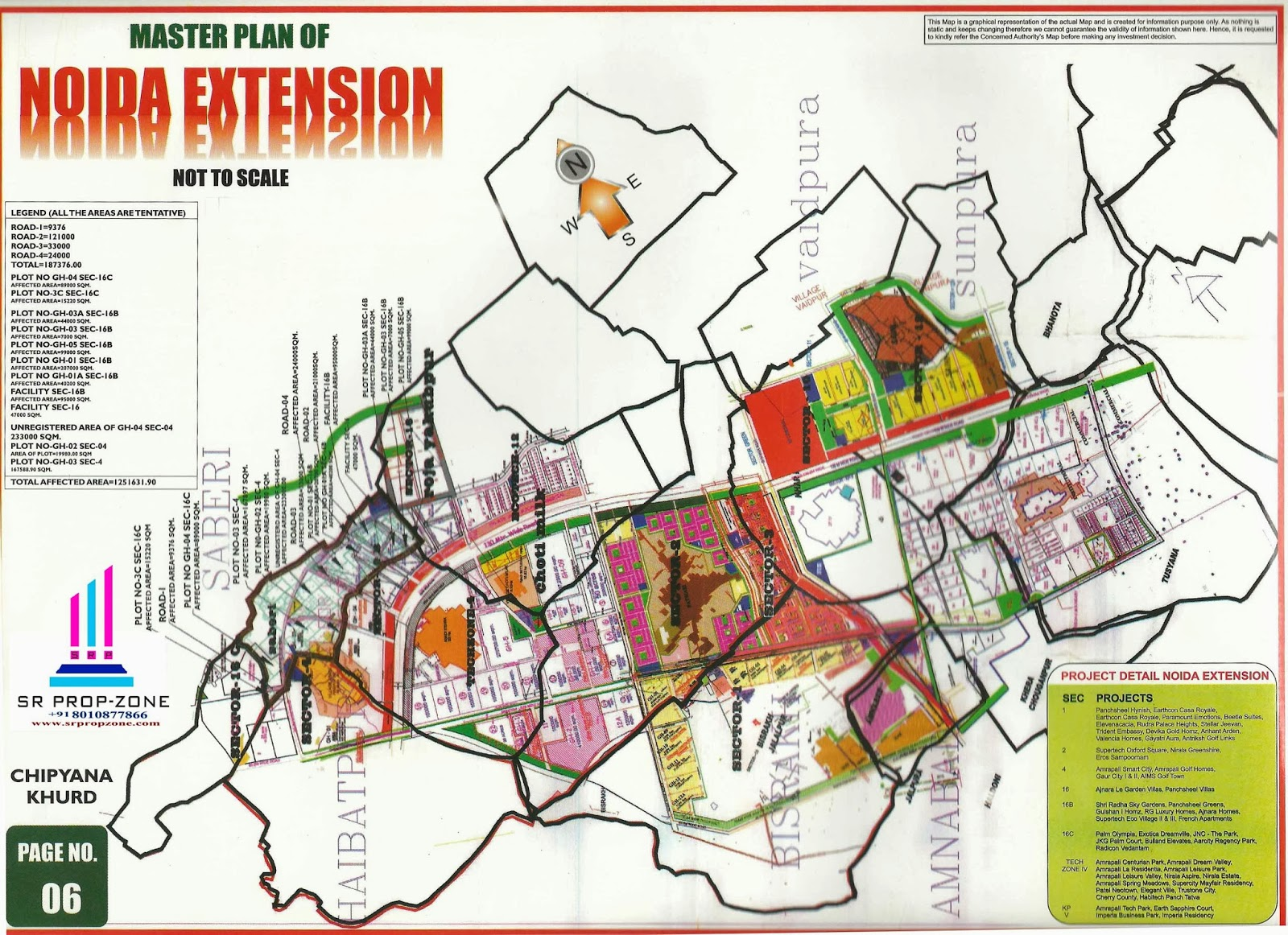 Noida Extension Map Master Plan of Noida Extension In HD Quility Map Greater Noida