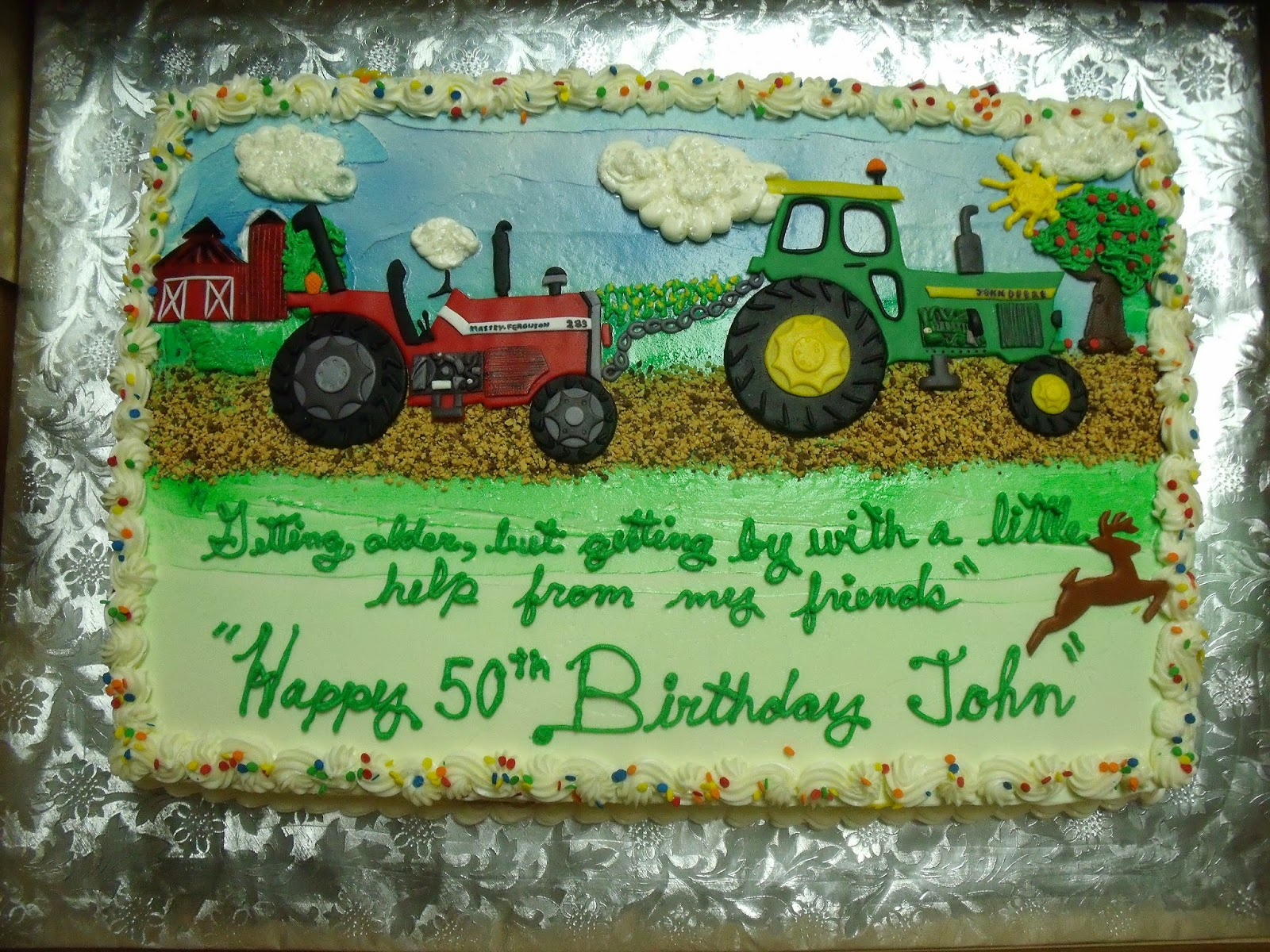 Pixies Cakery Tractor Cake