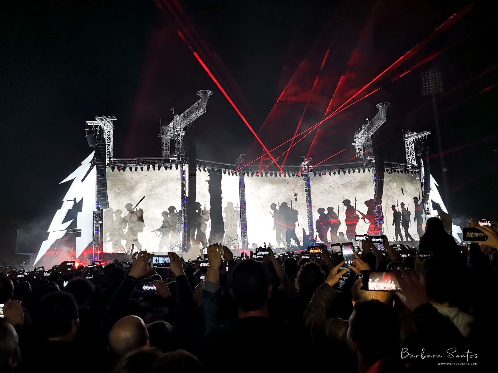 Music - Metallica - Lisbon show experience. May 1st, 2019.