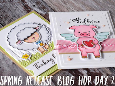 Honey Bee Stamps Spring Release Blog Hop - Day 2