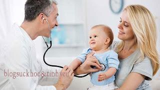 nhận biết sớm viêm phổi ở trẻ