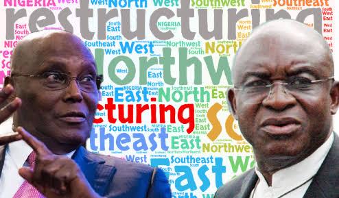 APC Tackles Atiku, David Mark Over Calls For Restructuring