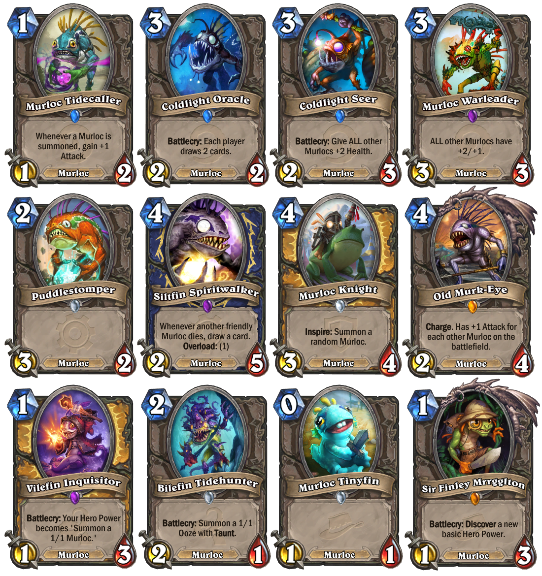 how to build a murloc deck