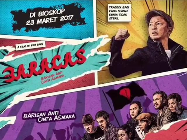 Film Baracas Karya Pidi Baiq Tayang di Bioskop 23 Maret 2017