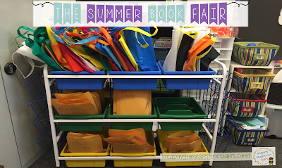 The summer slide is real! Why not try a Summer Book Fair where students can choose books to read over the summer. And they get to keep the books they choose!