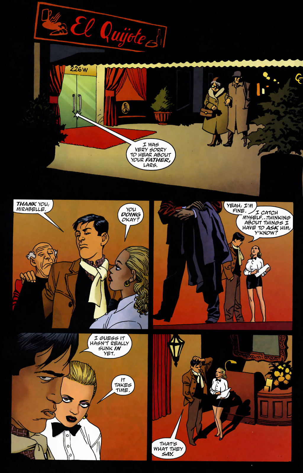 Read online 100 Bullets comic -  Issue #72 - 5