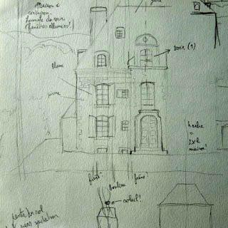 Maredret, rue des Laidmonts, lieu magique, enchanté, ange, daïmôn, nuit, Castor et Pollux, vénus, Magritte