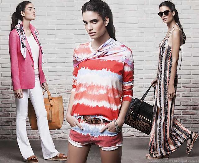 Moda 2015. Looks Ayres verano 2015 ropa de mujer de moda.