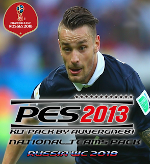 PES 2013 National Teams Kitpack 2018 by Auvergne81