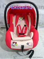 Baby Carrier dan Baby Car Seat Pliko Disney DB-07B Group 0 dan 0+ (0 - 13kg)
