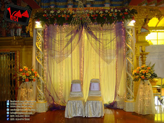 Vina Canopy Decor Engagement And Wedding Dinner