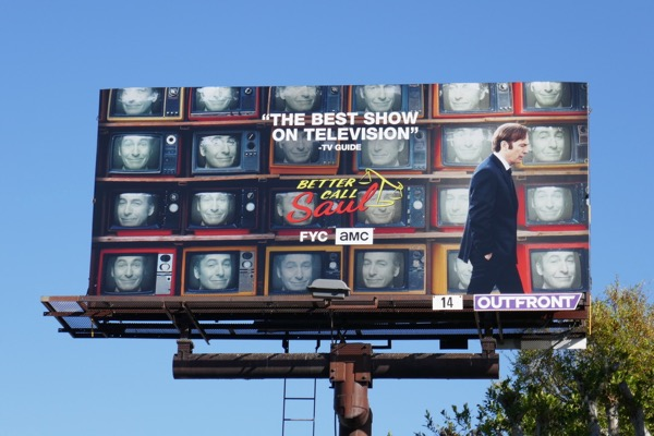 Better Call Saul season 4 FYC billboard