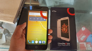 Symphony V75m firmware 100% tested without password