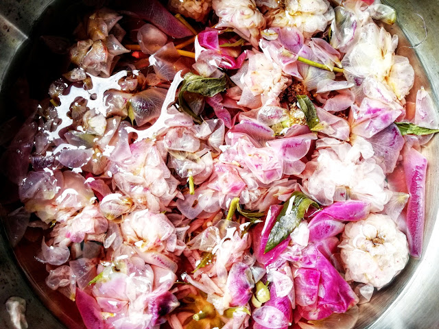 Boiled Down Rosewater